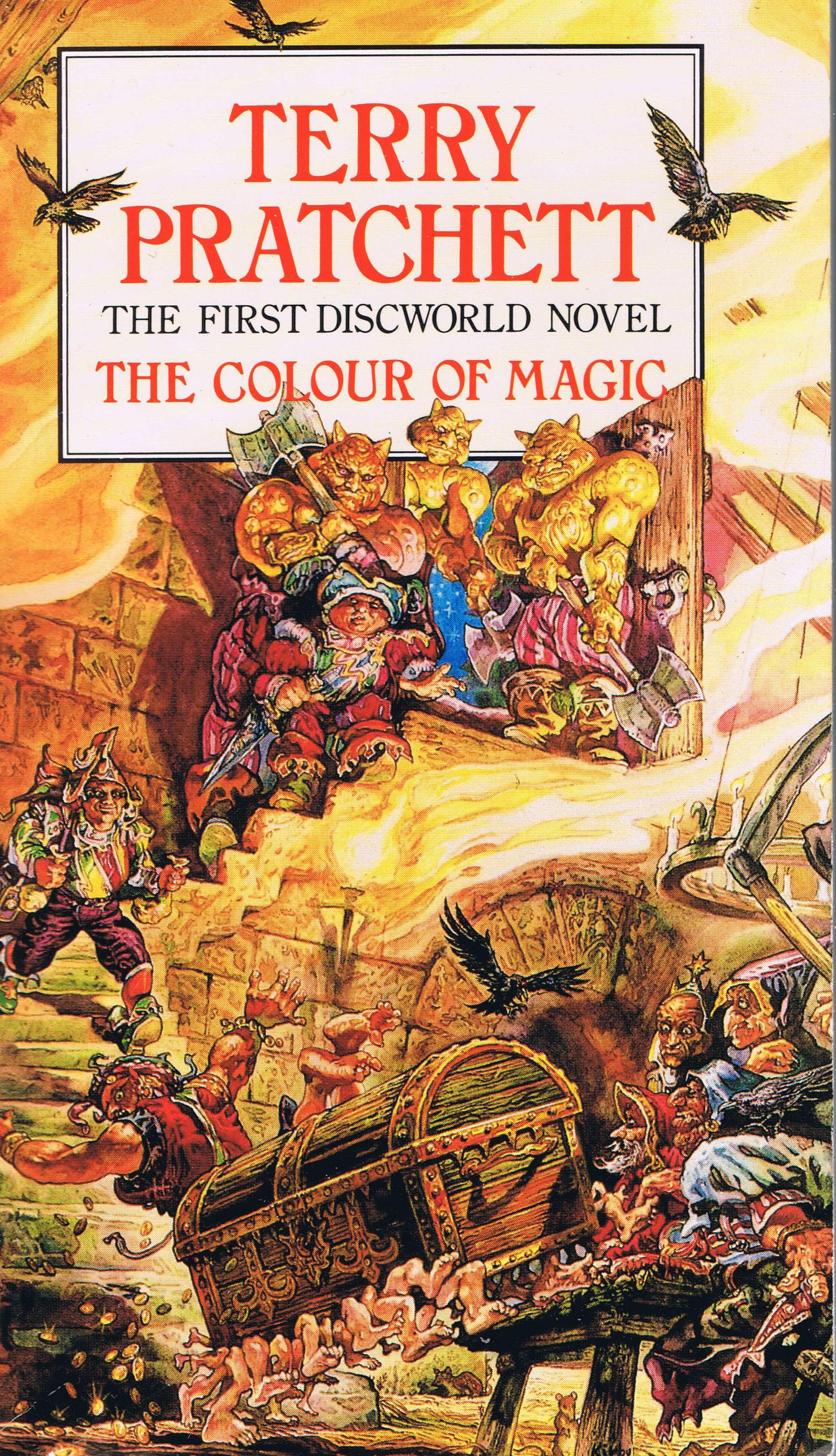 Цвет волшебства  the colour of magic 2008 смотреть