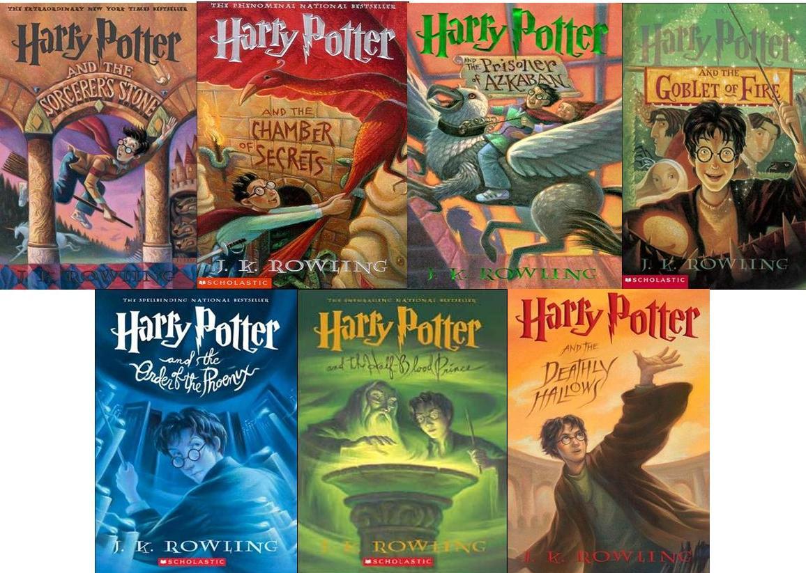 Книги гарри поттера с картинками